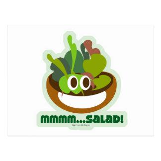 Mmmm Salade Briefkaart