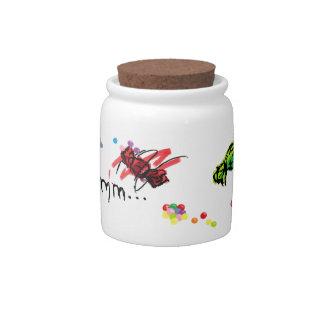 Mmmm… Zoete kruik x Porseleinen Snoeppot