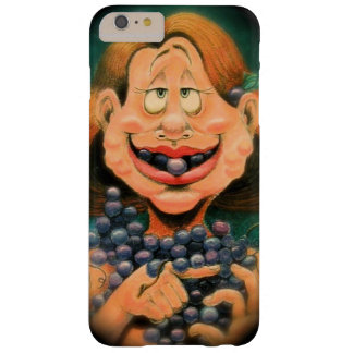 Mmmmm de Dame van Druiven voor iphone 6plus! Barely There iPhone 6 Plus Hoesje