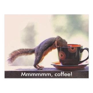 Mmmmmm, Koffie! Briefkaart