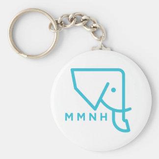 MMNH Blauwe Olifant Keychain Sleutelhanger