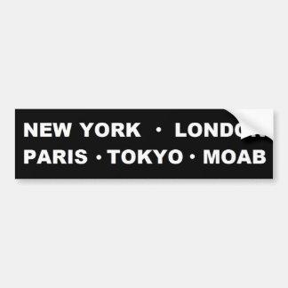 Moab de Sticker van de Bumper