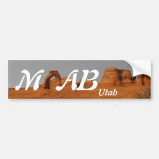 Moab, Utah Bumpersticker
