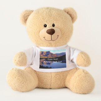 Moab Utah Teddybeer met de Geboorteplaats van de