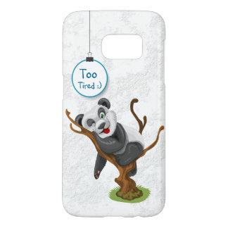 Mobiel de telefoonhoesje van de panda voor iphone samsung galaxy s7 hoesje