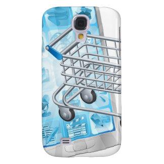 Mobiel het winkelen app concept