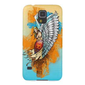 Mobiel hoesje: De Engel van de strijder Galaxy S5 Hoesje