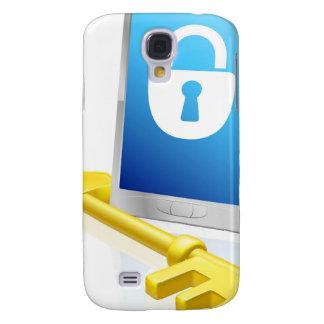 Mobiele telefoonslot en sleutel