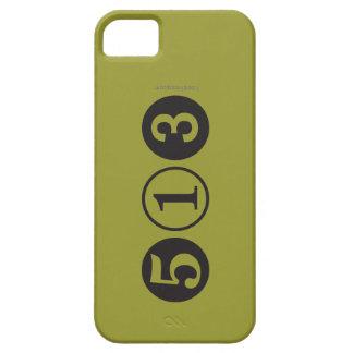 Mod. 513 iPhone 5 van het Landnummer Hoesje (Moste