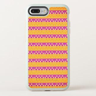 Mod.-accent-gouden-roze-streep-Apple-Samsung OtterBox Symmetry iPhone 8 Plus / 7 Plus Hoesje