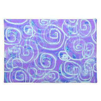 Mod. jaren '60 batik-Gestileerde Placemat