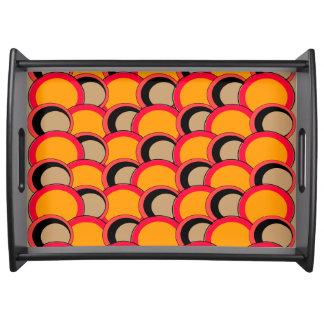 Mod. omcirkelt Sinaasappel Dienblad