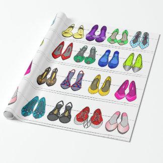 mode schoenen inpakpapier