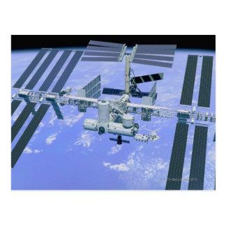 Model van een Internationaal Ruimtestation Briefkaart