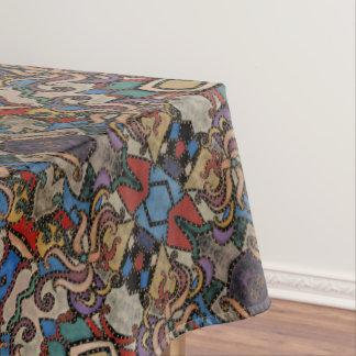 Modern Abstract BloemenPatroon Tafelkleed