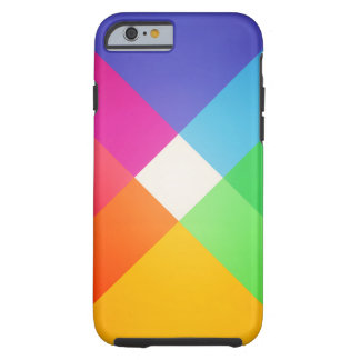 Modern Kleurrijk Geometrisch Abstract Patroon Tough iPhone 6 Hoesje