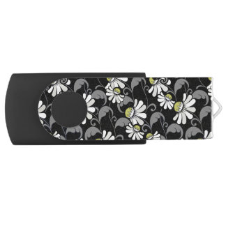 Modern Patroon 362 van de Bloem Swivel USB 2.0 Stick
