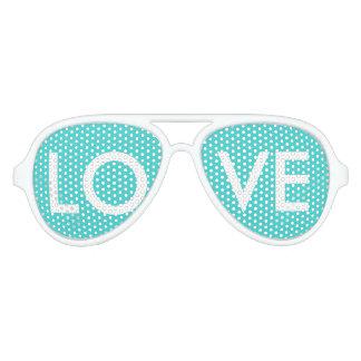 modern preppy girly elegant aqua blauwgroen blauw aviator zonnebril
