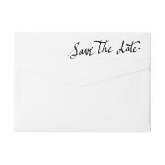 Modern sparen de Typografie van het Manuscript van
