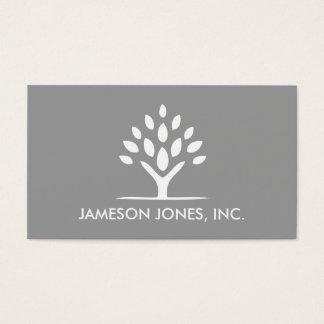 MODERN van de BOOM White/gray- Visitekaartje Visitekaartjes