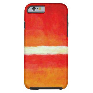 Moderne Abstracte Kunst - iPhone 6 van de Stijl Tough iPhone 6 Hoesje