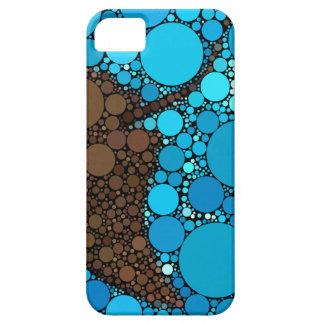Moderne Abstracte OceaanPijlstaartrog Barely There iPhone 5 Hoesje