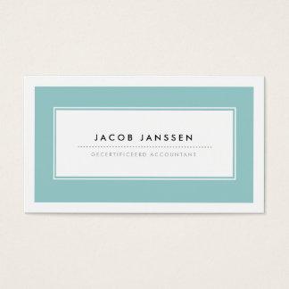 Moderne Blauw Visitekaartjes