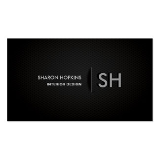 Moderne Elegante Eenvoudige Duidelijke Zwarte Glad Visitekaart Sjablonen