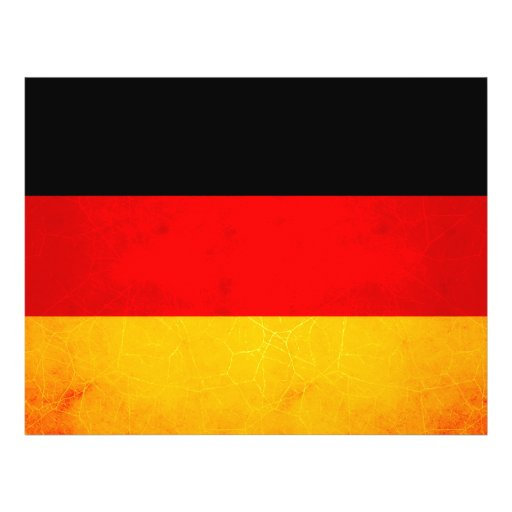 Moderne Gespannen Duitse Vlag Persoonlijke Folder