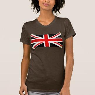 Moderne Gespannen Engelse Vlag T Shirts