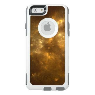 Moderne Koele Mooie Gouden Nevel, Sterren & Ruimte OtterBox iPhone 6/6s Hoesje