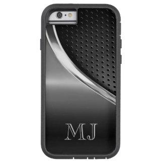Moderne Metaal kijkt Met monogram Tough Xtreme iPhone 6 Hoesje
