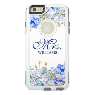 Moderne Mevr. Vintage Floral Watercolor OtterBox iPhone 6/6s Plus Hoesje