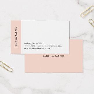 Moderne Minimale Visitekaartjes | blozen