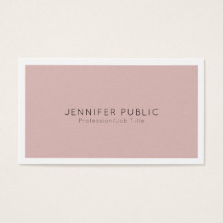 Moderne Professionele Duidelijke Elegant Visitekaartjes