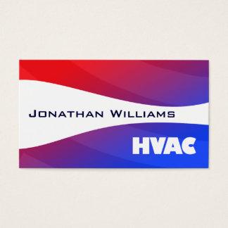 Moderne Professionele Hvac- Visitekaartjes
