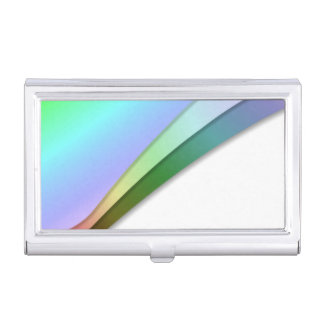 Moderne Regenboog Visitekaarthouder