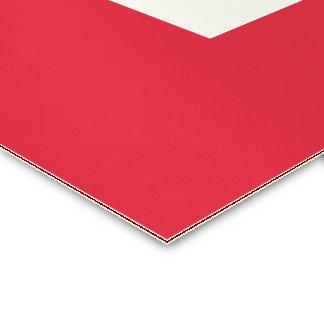 Moderne # Rode & Witte Klantgerichte Grens   van Visitekaartjes
