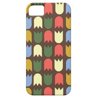 moderne tulpen op hoesje iPhone5