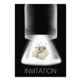 Moderne Vip van de Cake van de Partij van de 8,9x12,7 Uitnodiging Kaart