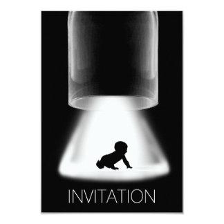 Moderne Vip van het Baby van het baby shower 8,9x12,7 Uitnodiging Kaart