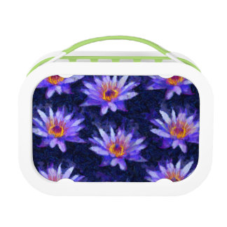 Moderne waterlelie lunchbox