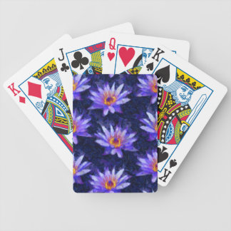 Moderne waterlelie pak kaarten
