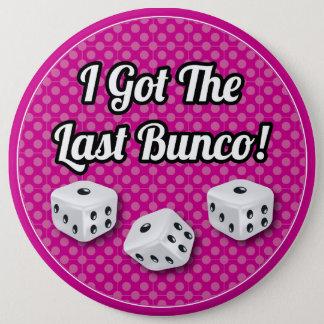Modieus kreeg ik Laatste Bunco! Ronde Button 6,0 Cm