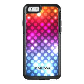 Modieus schitter Kleurrijke Lichten Bokeh OtterBox iPhone 6/6s Hoesje