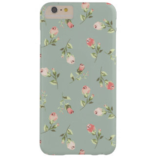 Modieuze Elegante Vintage BloemeniPhone 6 plus Barely There iPhone 6 Plus Hoesje