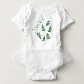 Modieuze Groene Bodysuit van de Rok van het Baby