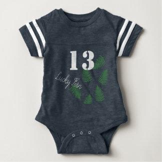 Modieuze Groene Bodysuit van het Baby van 13 Varen