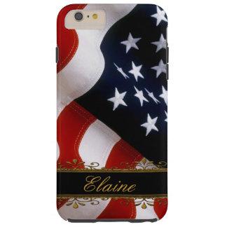 Modieuze iPhone 6 van de Vlag van de V.S. plus het Tough iPhone 6 Plus Hoesje