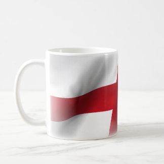 Modieuze Patriottische St. George Flag Koffiemok